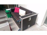 (2) Converted Flight Case Sofa/Suite (Vintage Style)