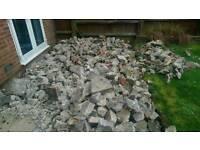Free rubble / concrete
