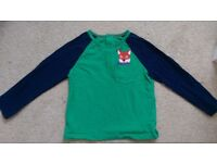 Baby Boden fox top age 18-24 months
