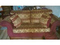 2seater sofa and armchair