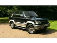 ISUZU TROOPER 7 SEATER DIESEL CREAM LEATHER AUTO SIMILAR TOYOTA LAND CRUISER LAND ROVER DISCOVERY