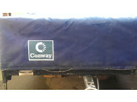 6 x 4 CONWAY CAR TRAILER WITH TAIL & INDICATOR LIGHTS FITTED