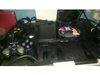 Ps2 console with eyetoy