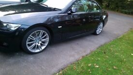 Set of 4 genuine BMW M Sport MV3 Alloy Wheels with run-flat tyres 8JX18ET34 - 81/2JX18ET:37