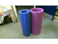 large Yoga mat 182cm x 50cm 9mm thick