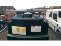 Titan 1225 single skin oil tank, immaculate, never repaired, will deliver if local. NO OFFERS