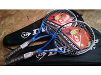 """Tennis racket """"DUNLOP"""" for sale (Never used)"""
