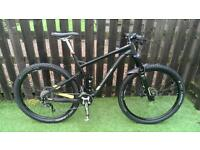 Marin rift zone 29er full suspension mountain bike