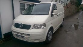 VW Transporter t5 T28 102 TDi SWB panel van.
