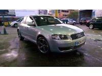Audi A3 2004 Blue Manual petrol with Brand new Alloys for sale!!!!