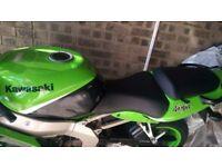 Green ninja 636