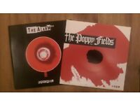 The Alarm 'Superchannel' 7 inch White Vinyl Single & The Poppy Fields '45 RPM' 7 inch Vinyl Single