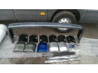 vw t5 t5.1 transporter multivan caravelle tailgate conversion bumper slam panel headlight radiator