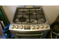 AEG Dual Fuel Double Oven cooker