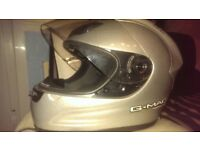 used silver helmet good conditions