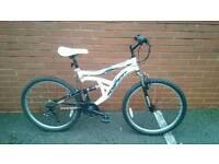 "Mountainbike 26"" White"