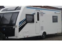 FIXED PRICE - 2017 LUNAR CLUBMAN SR INCLUDES MOTOR MOVER, KAMPA AIR AWNING & MUCH MORE WORTH £28,800