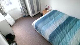 Double Room to rent in 3 bedroom flat