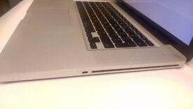 Macbook Pro late 2011 i7 8GB RAM 500HDD