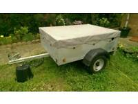 Caddy 535 Trailer with cover