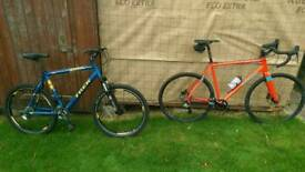 Cyclo cross and Hard tail