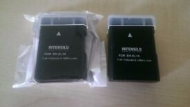 2 new Batteries for Nikon D3400 camera