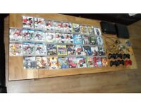 PlayStation 3 x 2 with 6 controls and 36 games