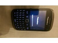 blackberry 9320 on vodafone good condition silver and black