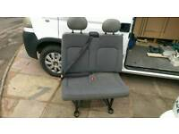 Double front van seat
