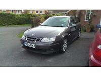 Saab 9-3 1.9TiD Vector Sport 150bhp MOT May 18, 6spd manual, full leather, A/C, heated seats, cruise