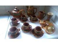 Collection of Lamorna Cornish Pottery