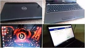 excellent condition 12 months old fast multimedial and gaming laptop DELL, Windows 10 Pro, was £549
