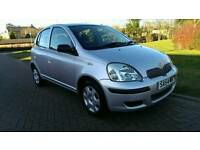 2004 54 TOYOTA YARIS 1.0 5 DOOR * 1 LADY OWNER * 29500 MILES *