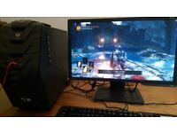 Acer Predator GTX1070 Gaming PC and Gaming Monitor for Laptop Swap