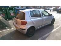 2004 toyota yaris 1.3 low millege 5 door quick sale