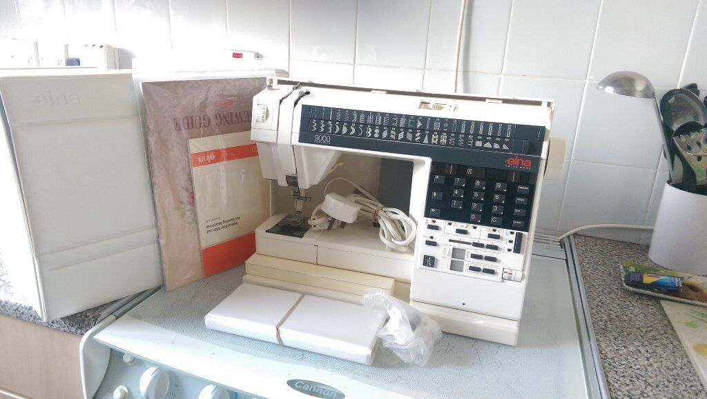 Elna 40 Sewing And Embroidery Machine In Atherton Manchester Interesting Elna 9000 Sewing Machine