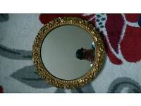 Round Antique Mirror