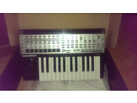 Novation 25 SL MKII, midi keyboard controller rrp £219