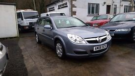 2008 Vauxhall Vectra Life, 1.8 Petrol, 5 Door Estate