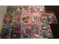collection of 80s & 90s comics. excellent condition