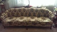 3 piece antique couch set