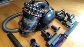 Dyson dc54 hoover vacuum cleaner bagless comes with all spare parts and heads hardly used
