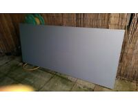 Solid wooden door ideal for garage or shed