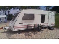 Fleetwood Garland 165-4 Touring Caravan 4 Berth