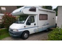 2002 ACE MILANO NOUVELLA MOTORHOME ONLY 26000 MILES