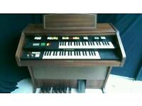 Hammond organ with Lesley speaker