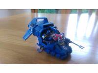 Warhammer 40000 space marine land speeder