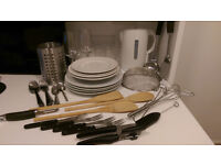 56-piece kitchen set (preferably all together but individual is possible)