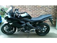 Kawasaki ER6-f 10/11 EX650 CAF Black 3589 miles can be A2 restricted