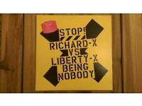 Richard X vs Liberty X 'Being Nobody' 12 inch Vinyl Single